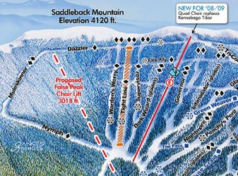 Ski Resorts In Maine Map.Every Maine Ski Resort Trail Map Sunday River Sugarloaf