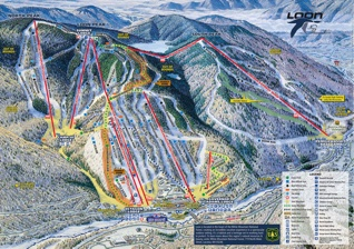 Every New Hampshire Ski Resort Trail Map Waterville Valley